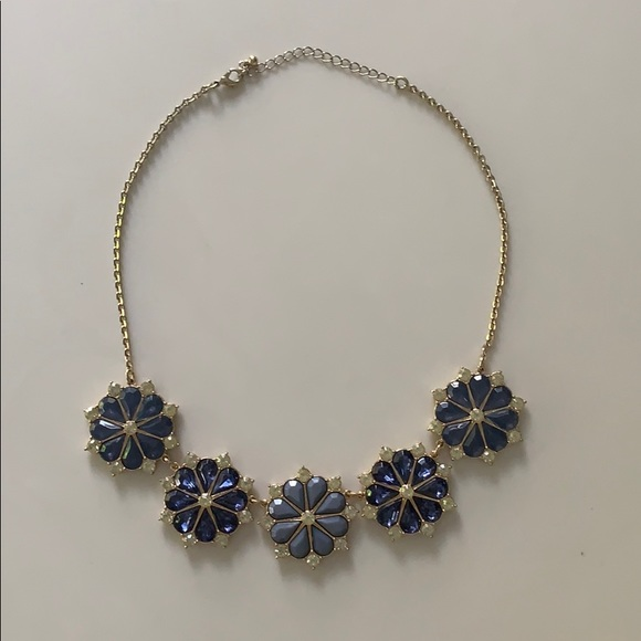 Jewelry - Blue statement necklace